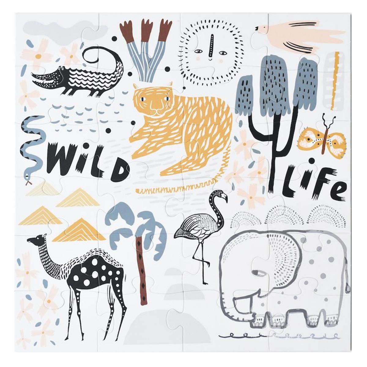 Mes premiers jouets Puzzle de Sol Wild Life Puzzle de Sol Wild Life