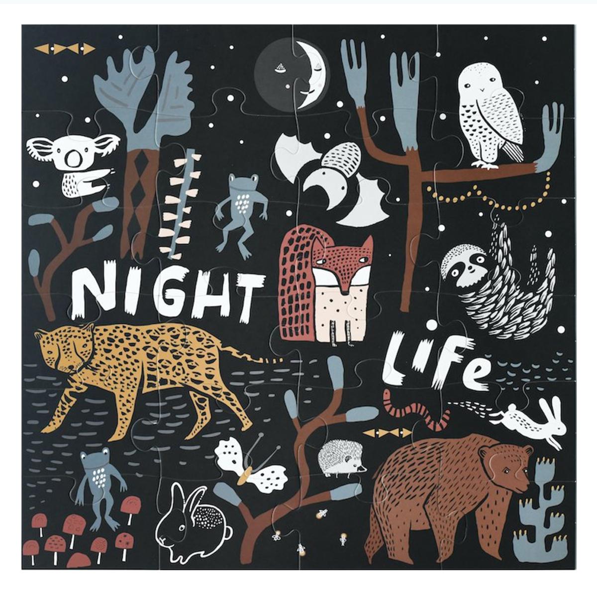 Mes premiers jouets Puzzle de Sol Night Life Puzzle de Sol Night Life