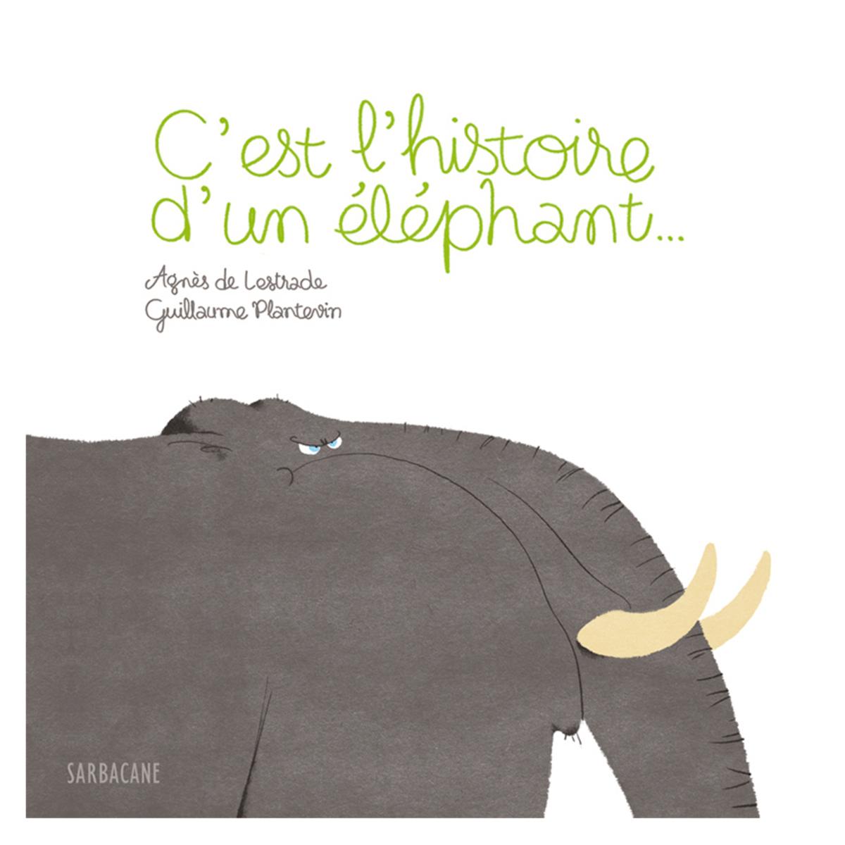 Livre & Carte C'est l'Histoire d'un Eléphant C'est l'Histoire d'un Eléphant