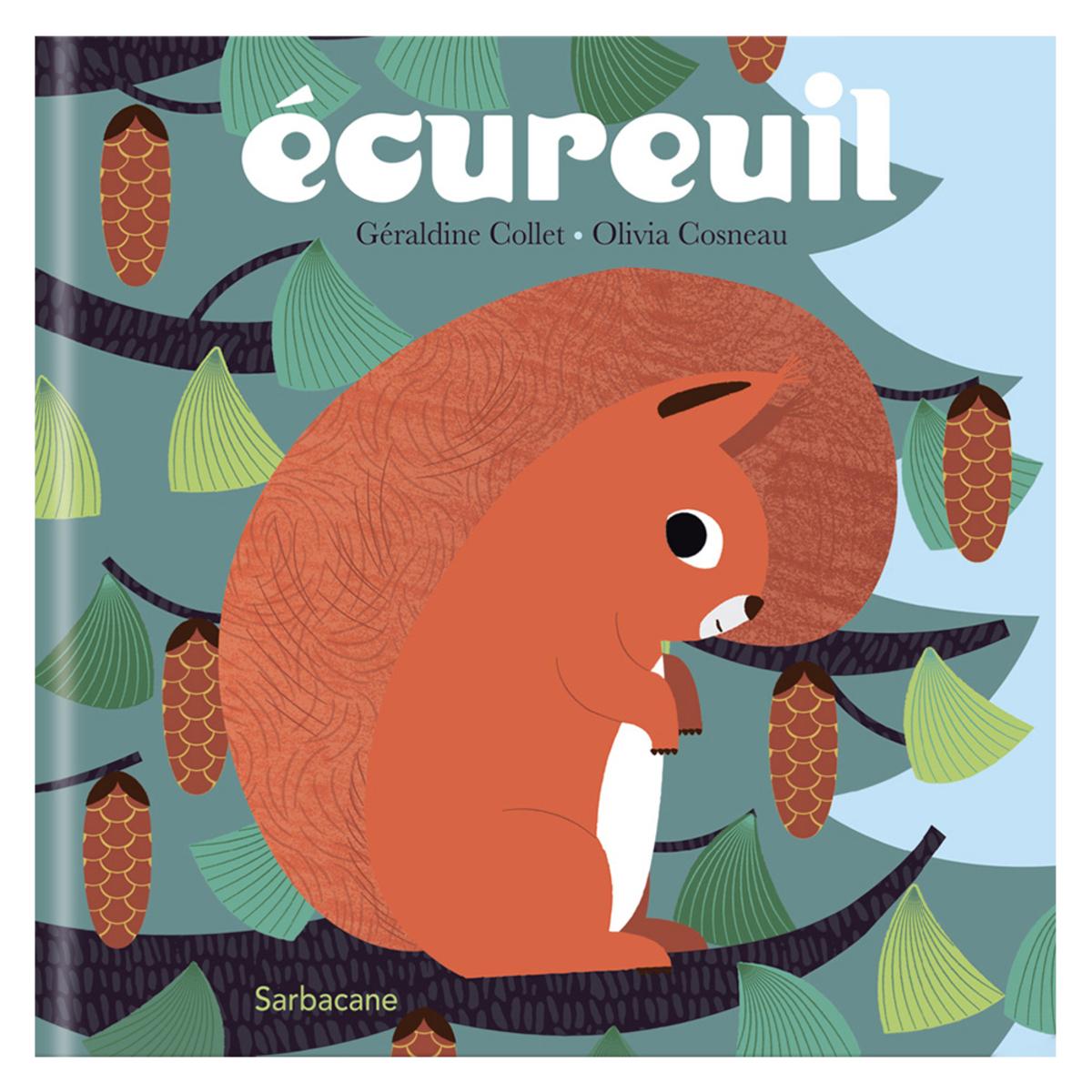 Livre & Carte Ecureuil Ecureuil