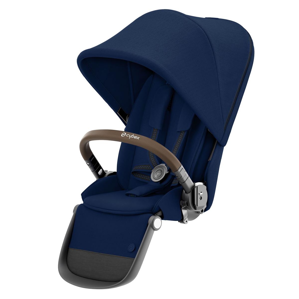 Accessoires poussette Siège Supplémentaire Gazelle S Châssis Taupe - Navy Blue Siège Supplémentaire Gazelle S Châssis Taupe - Navy Blue
