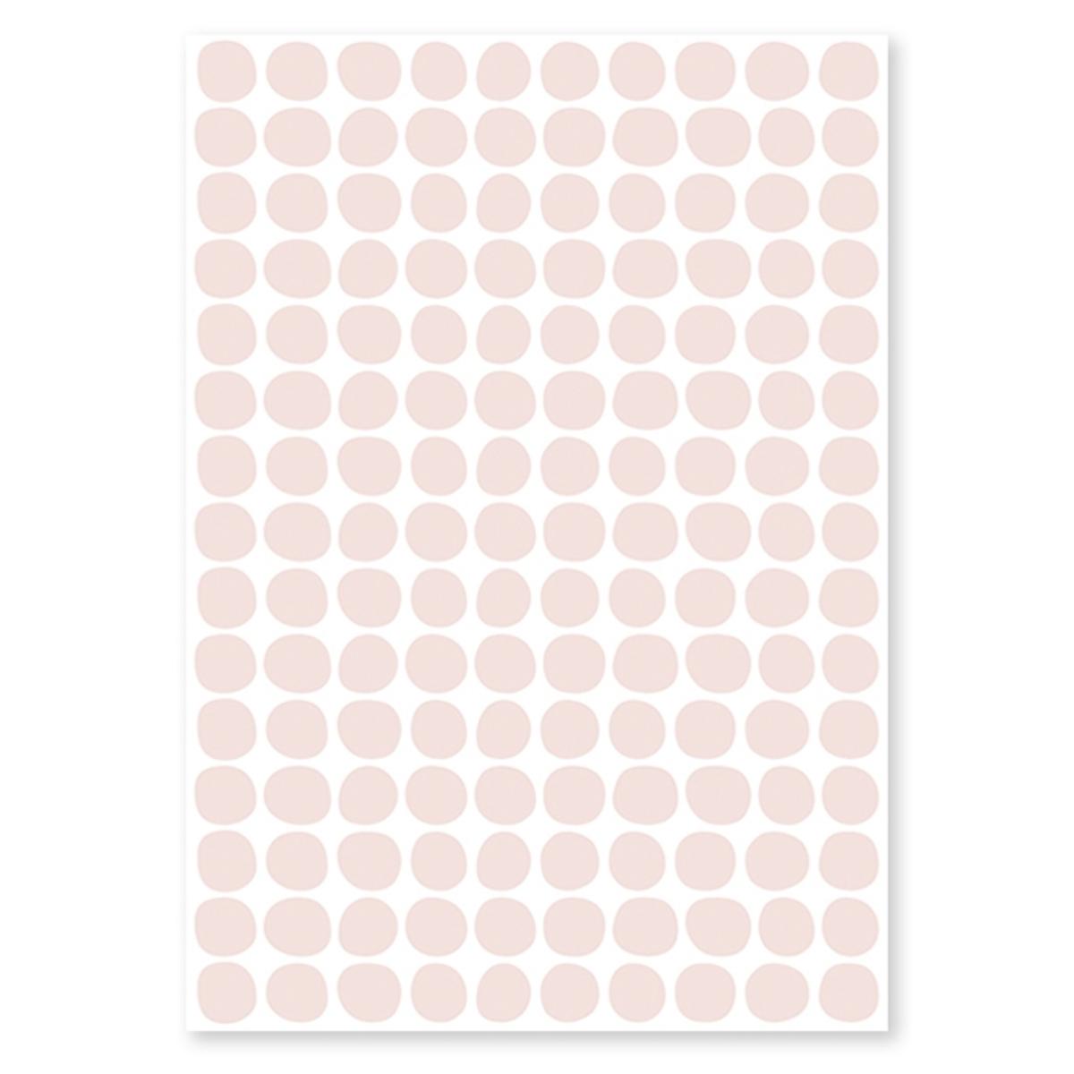 Sticker Planche de Stickers - Pois Rose Pearl Planche de Stickers - Pois Rose Pearl