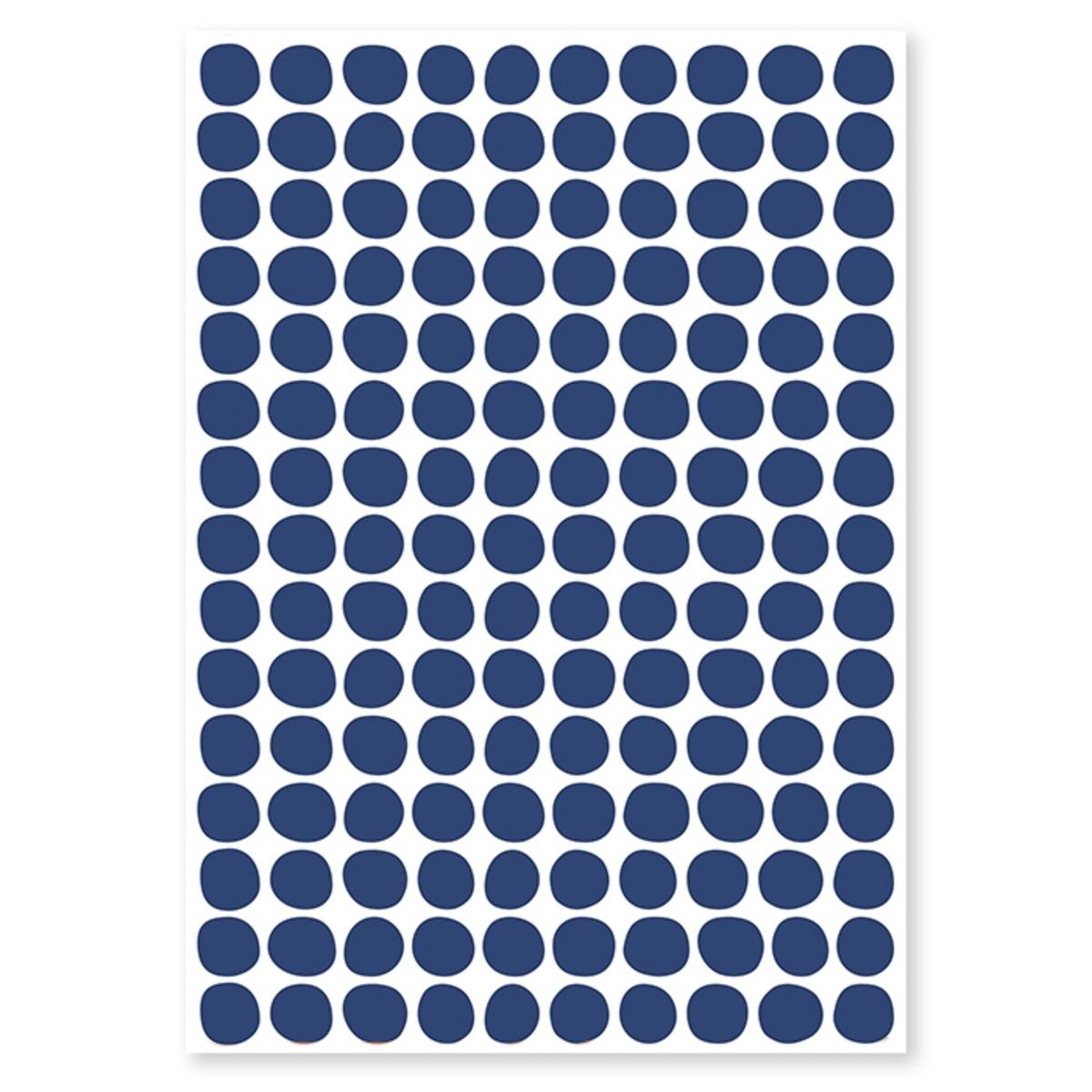 Sticker Planche de Stickers - Pois Navy Planche de Stickers - Pois Navy