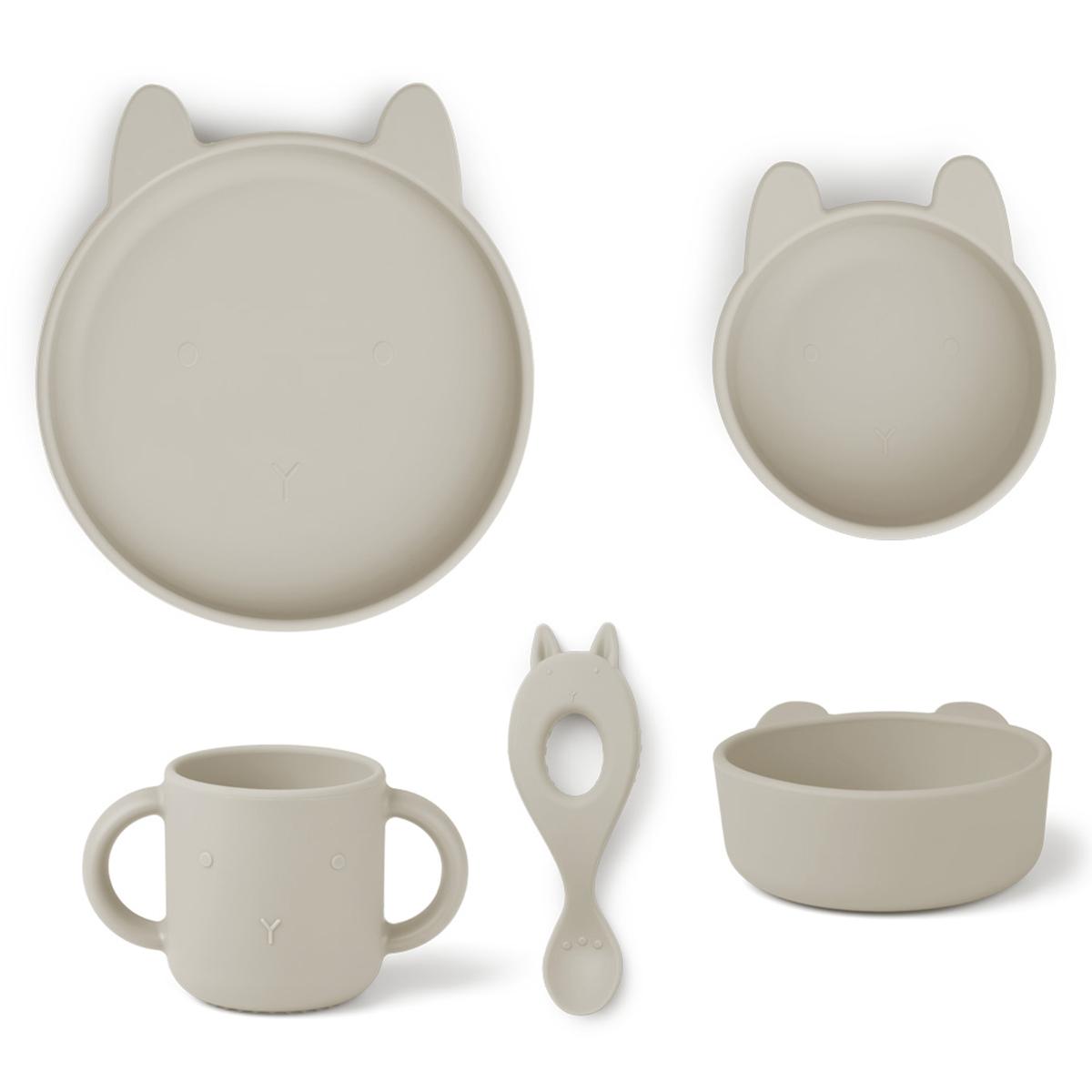 Coffret repas Set Repas 4 Pièces Vivi - Rabbit Sandy Set Repas 4 Pièces Vivi - Rabbit Sandy