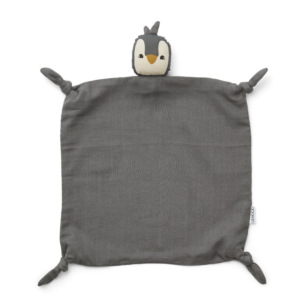 Doudou Doudou Agnete Pingouin - Stone Grey Doudou Agnete Pingouin - Stone Grey