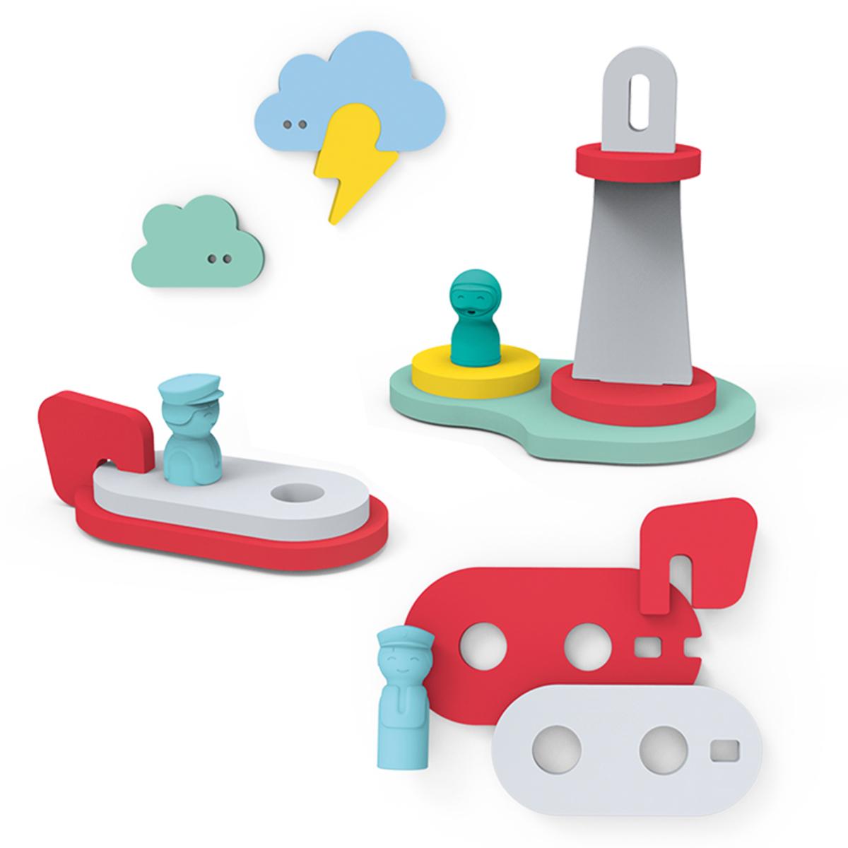 Mes premiers jouets Puzzle de Bain A la Rescousse ! Puzzle de Bain A la Rescousse !