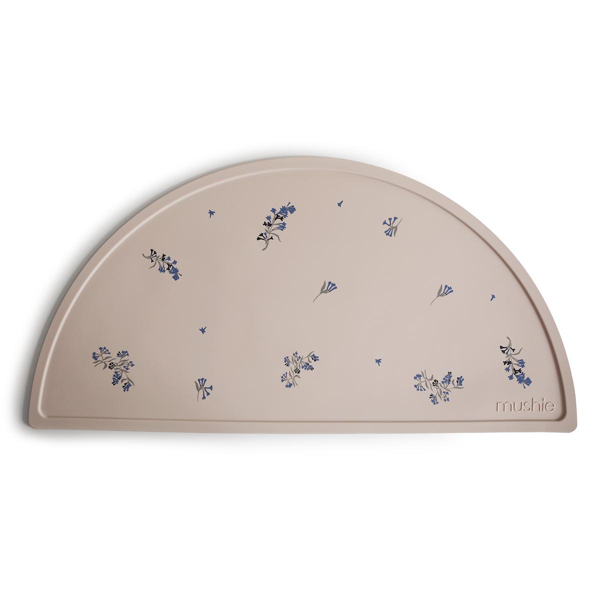 Vaisselle & Couvert Set de Table Mushie - Beige et Fleurs de Lilas Set de Table Mushie - Beige et Fleurs de Lilas