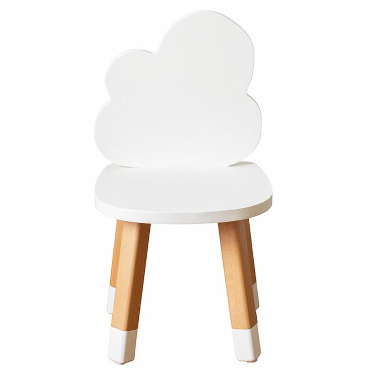 Table & Chaise Chaise Nuage - Blanc Chaise Nuage - Blanc