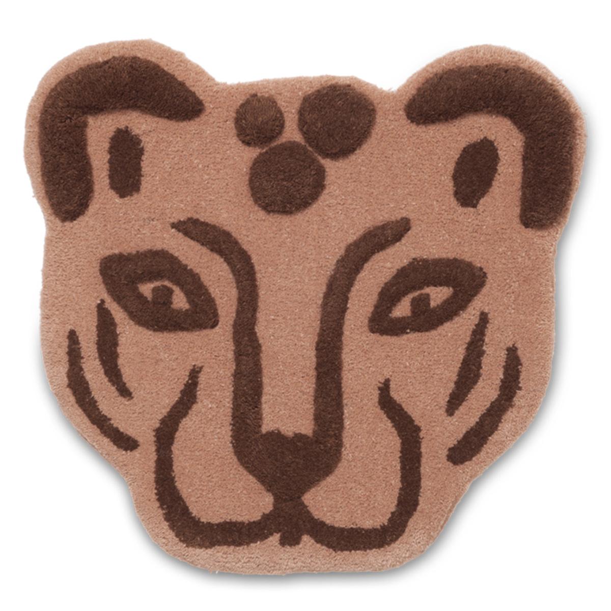 Objet décoration Tenture Murale en Laine Leopard Tenture Murale en Laine Leopard