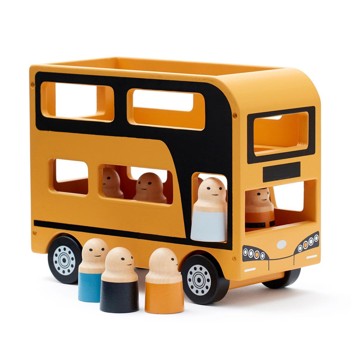 Mes premiers jouets Autobus à l'Impériale Aiden Autobus à l'Impériale Aiden