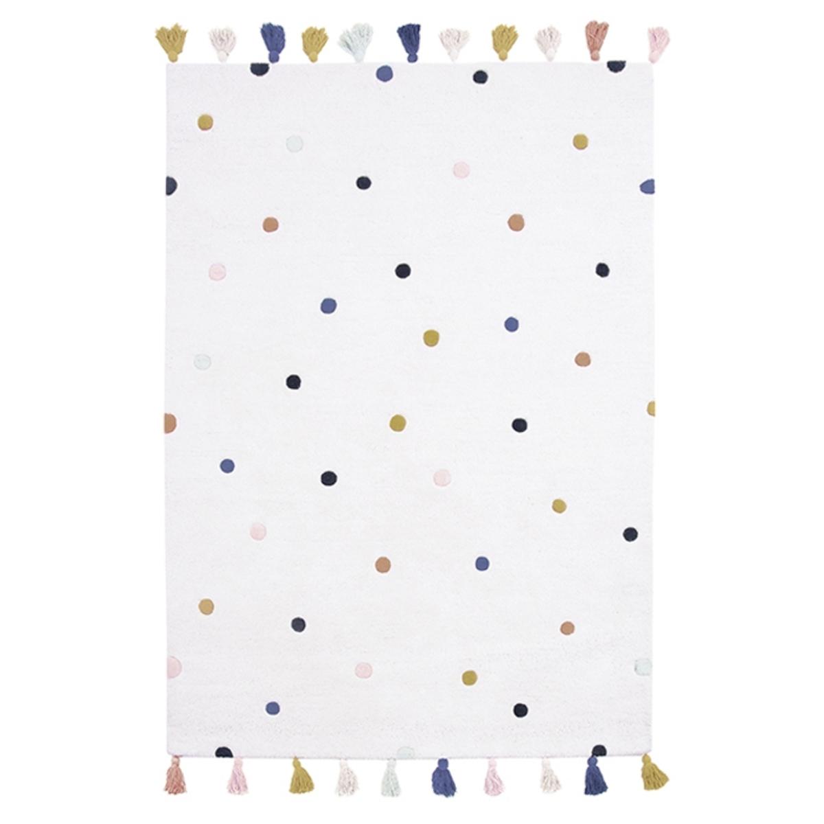 Tapis Tapis Pois Multicolores - 120 x 170 cm Tapis Pois Multicolores - 120 x 170 cm