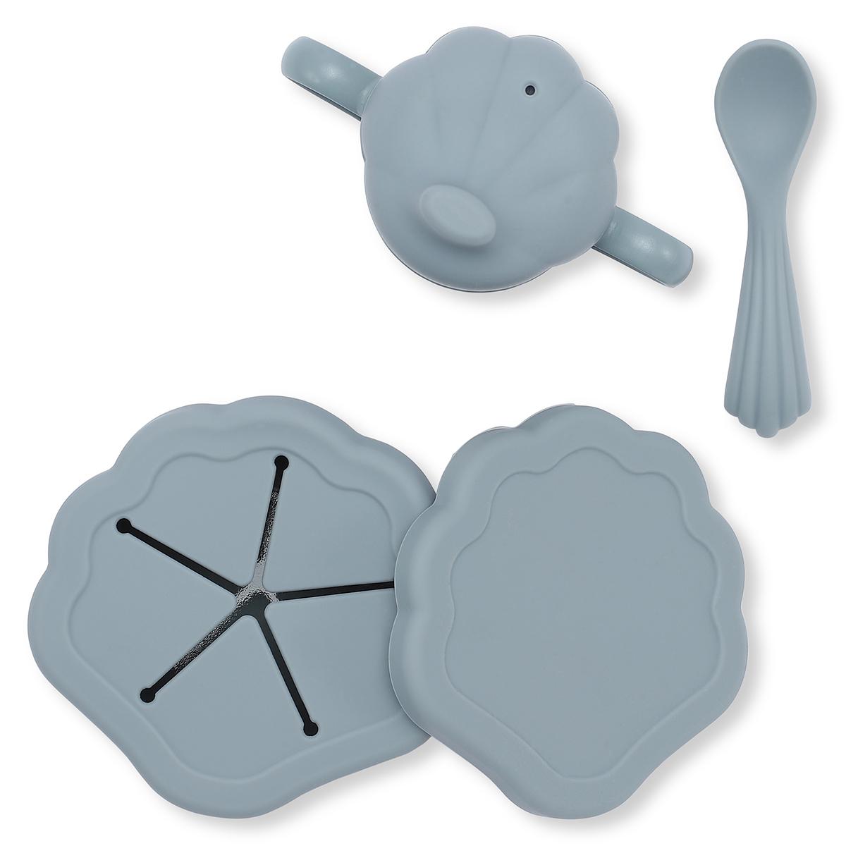 Coffret repas Set de Repas 5 Pièces Coquillage - Light Blue Set de Repas 5 Pièces Coquillage - Light Blue