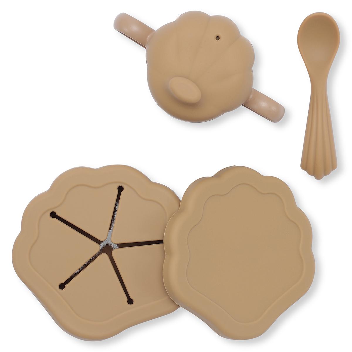 Coffret repas Set de Repas 5 Pièces Coquillage - Terracotta Set de Repas 5 Pièces Coquillage - Terracotta