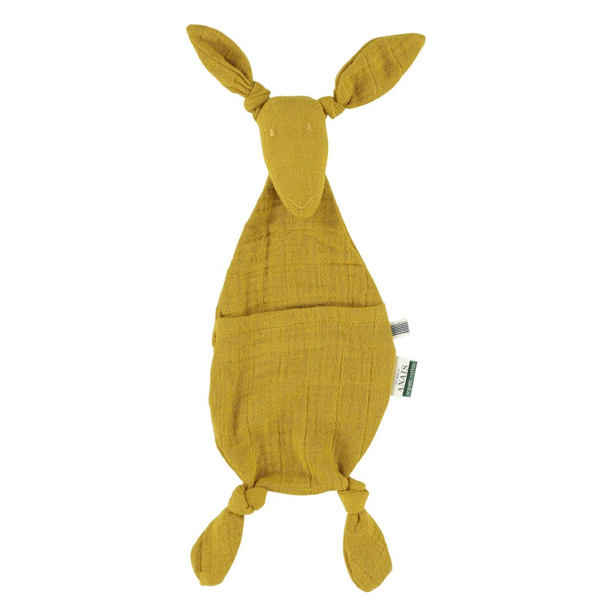 Doudou Doudou Kangourou - Bliss Mustard Doudou Kangourou - Bliss Mustard