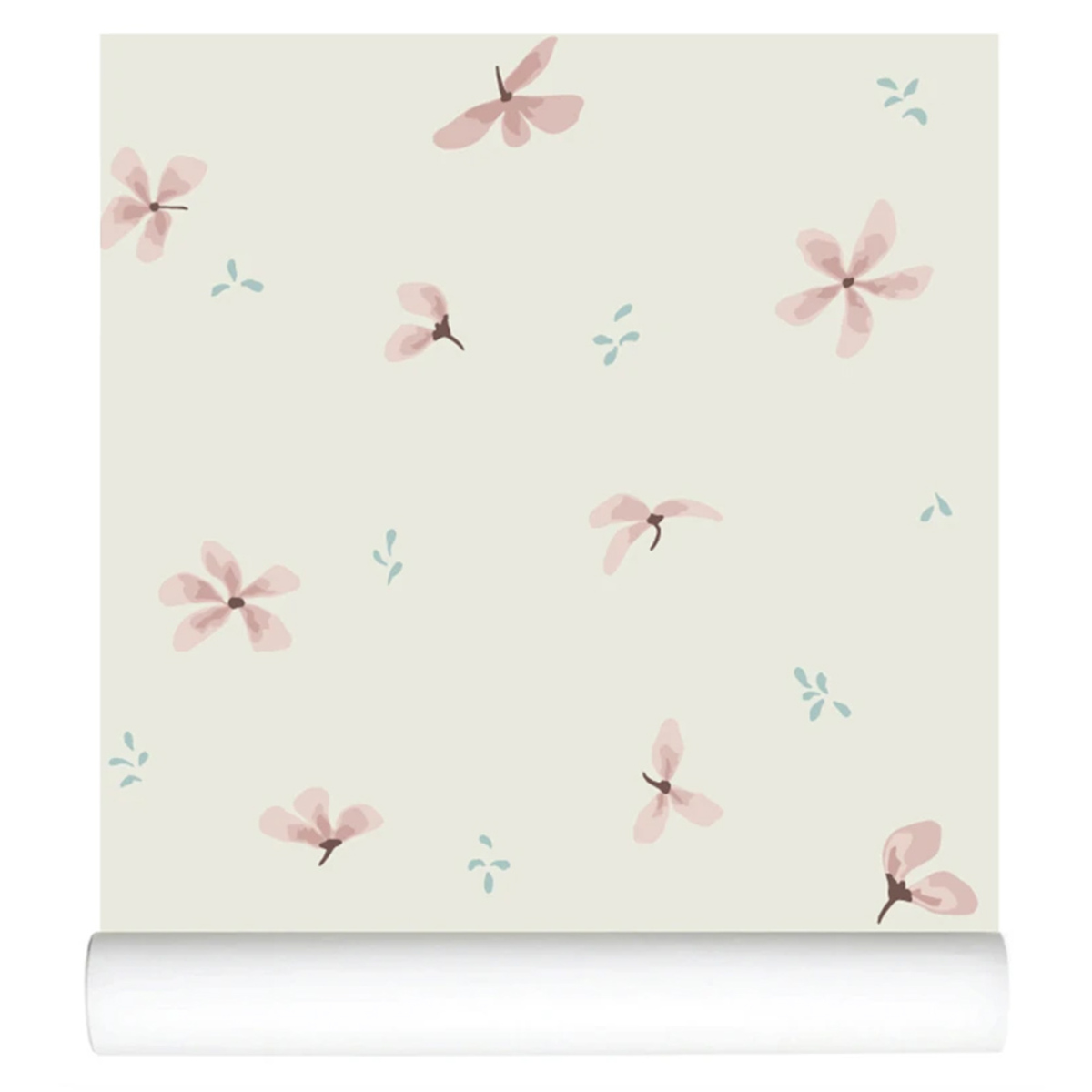 Papier peint Papier Peint - Windflower Cream Papier Peint - Windflower Cream