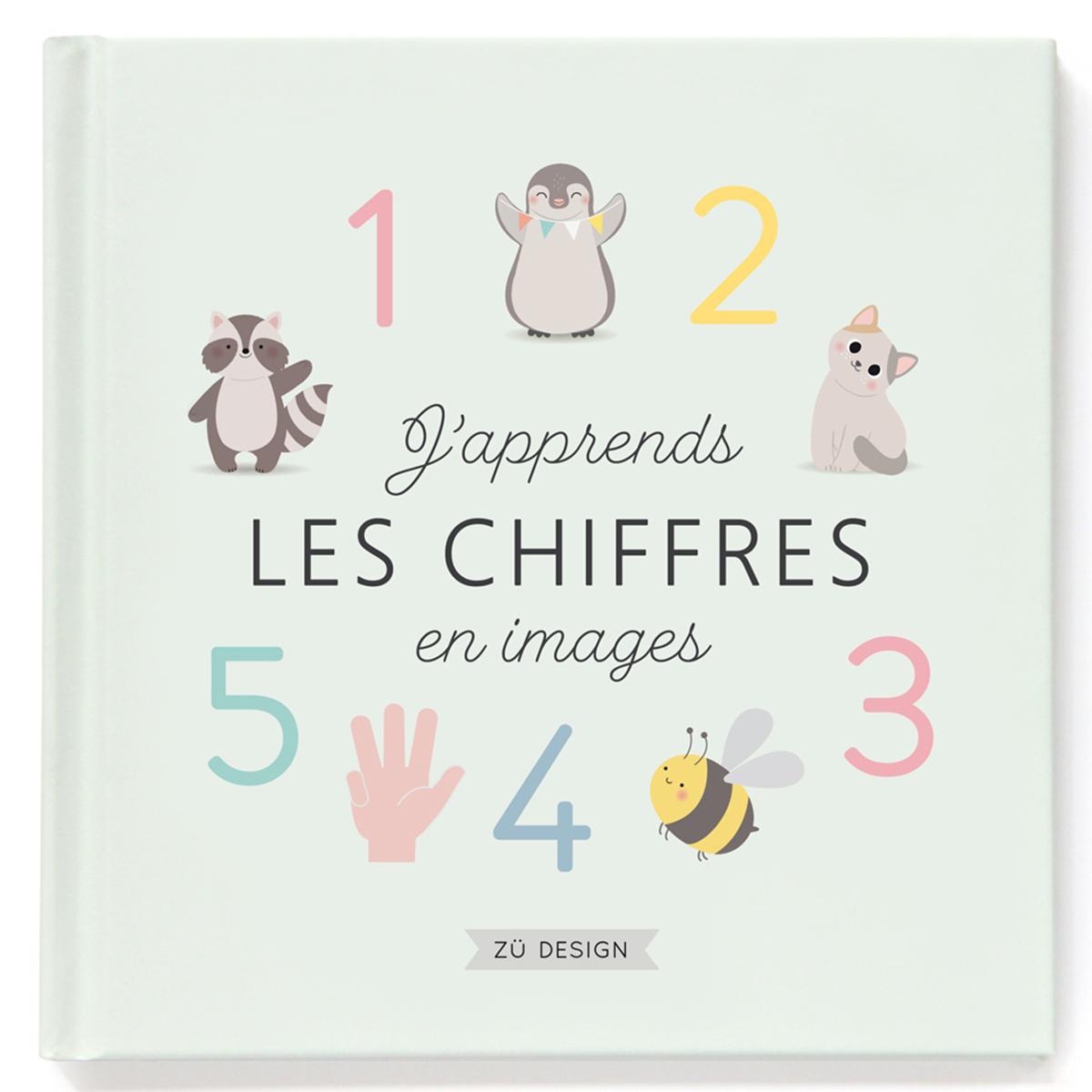 Livre & Carte J'Apprends les Chiffres en Images J'Apprends les Chiffres en Images