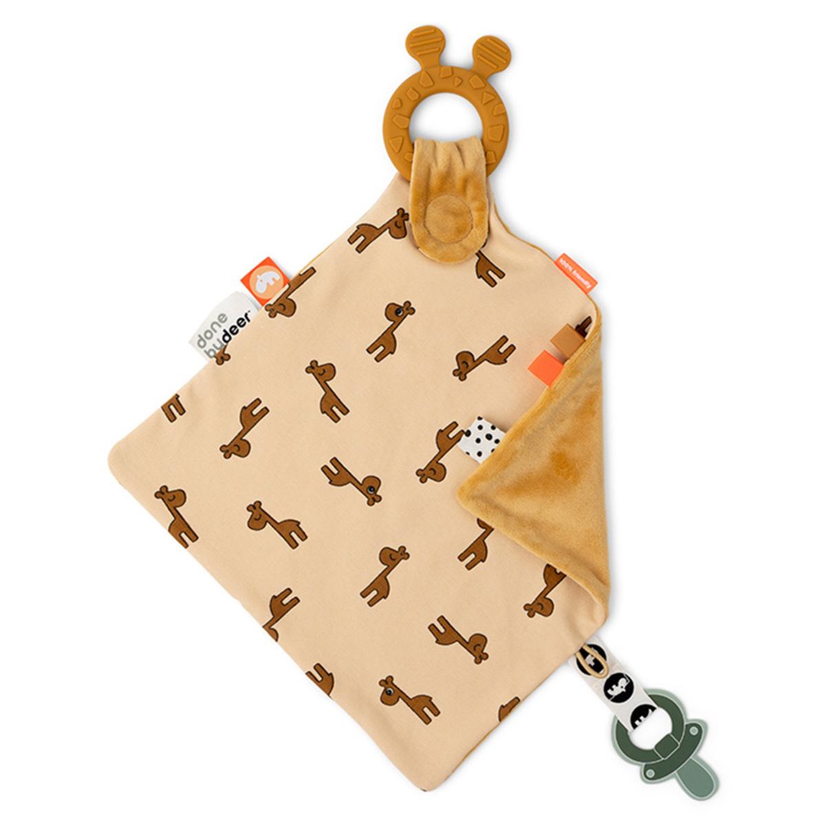 Doudou Doudou Raffi - Moutarde Doudou Girafe