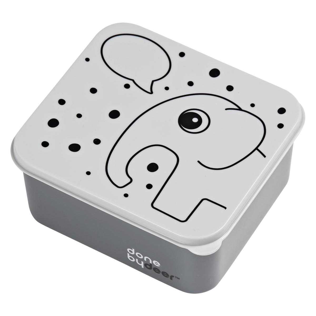 Vaisselle & Couvert Boîte à Goûter Elphee - Gris Boîte à Goûter Elphee - Gris