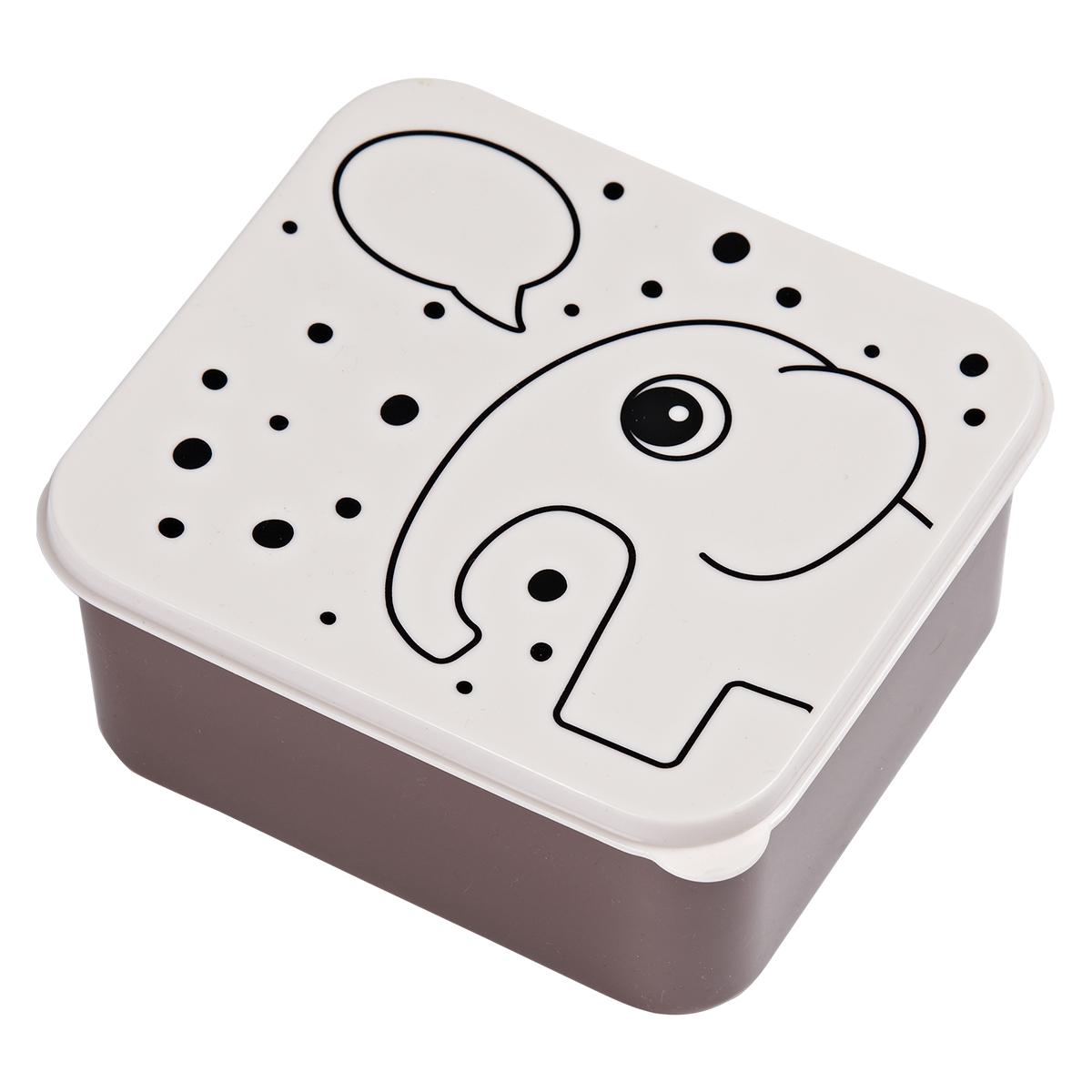 Vaisselle & Couvert Boîte à Goûter Elphee - Rose Poudré Boîte à Goûter Elphee - Rose Poudré