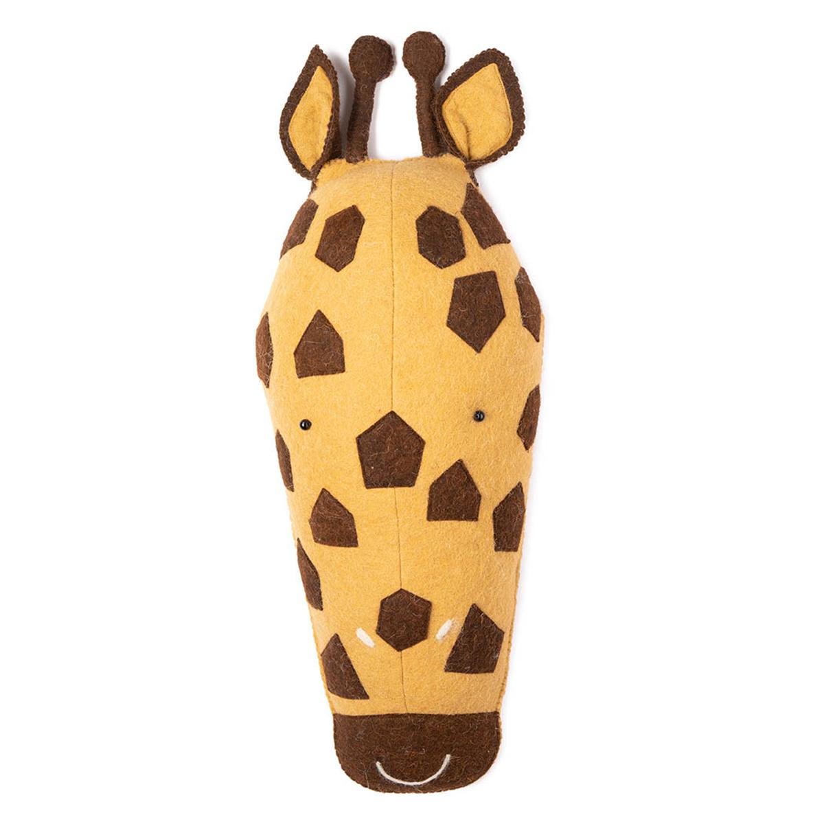 Objet décoration Masque Africain Kaio Girafe Masque Africain Kaio Girafe