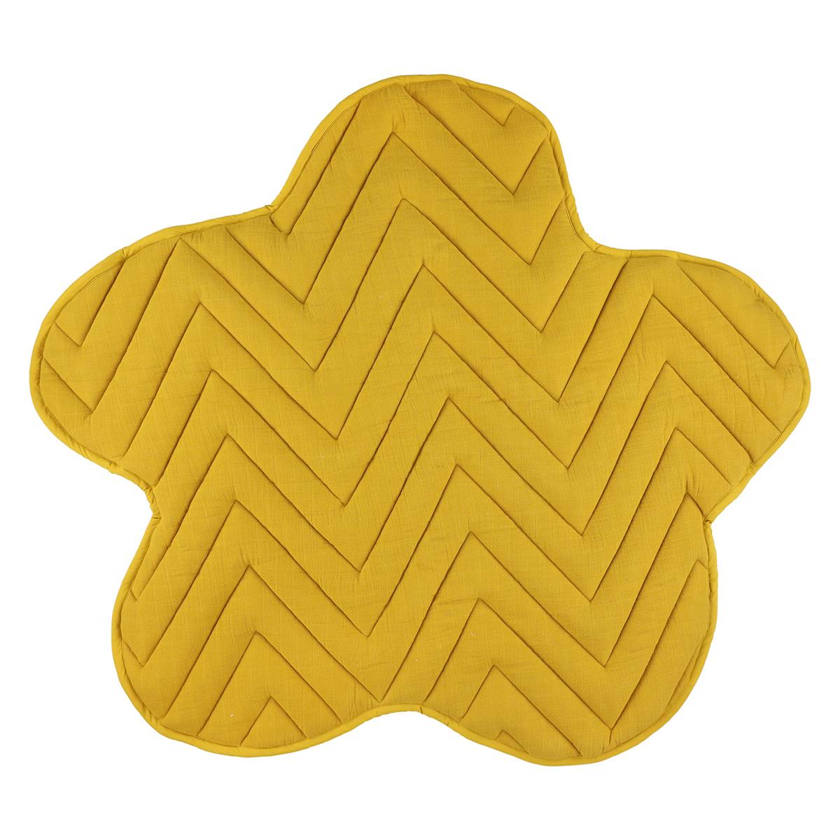 Tapis éveil Tapis de Jeux Fleur - Bliss Mustard Tapis de Jeux Fleur - Bliss Mustard