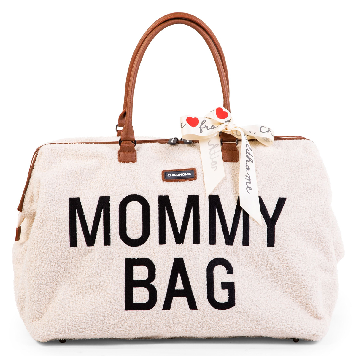 Sac à langer Mommy Bag Large - Teddy Ecru Mommy Bag Large - Teddy Ecru