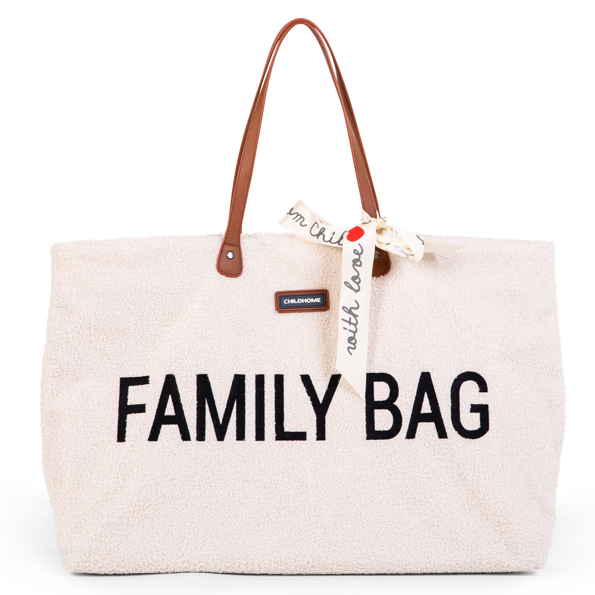 Sac à langer Family Bag - Teddy Ecru Family Bag - Teddy Ecru