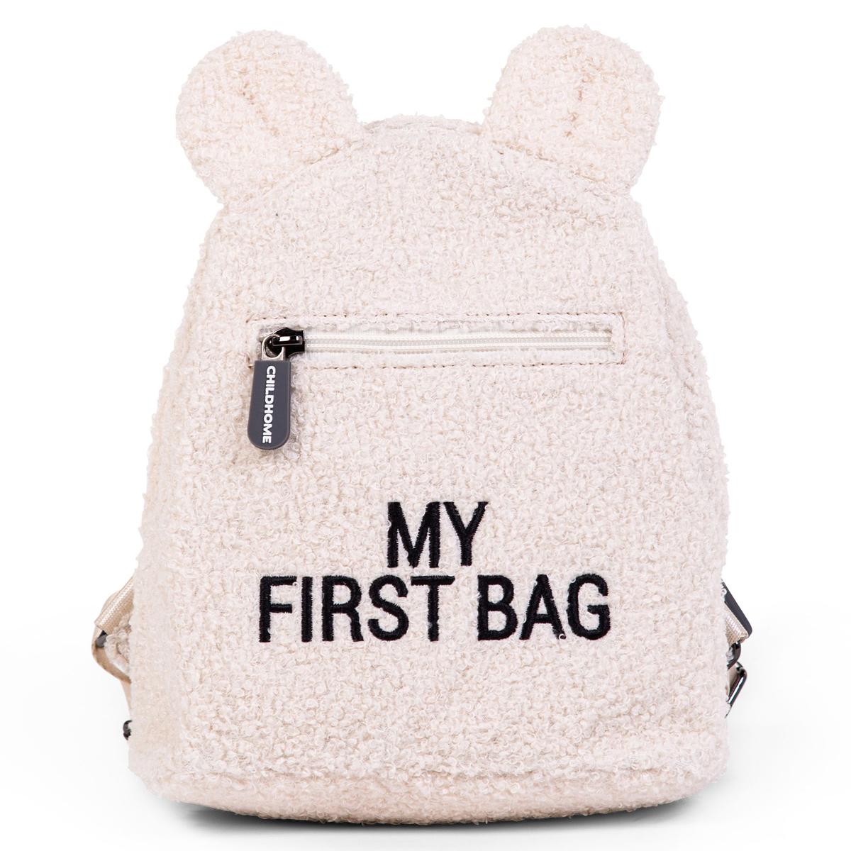 Bagagerie enfant Sac à Dos My First Bag - Teddy Ecru Sac à Dos My First Bag - Teddy Ecru