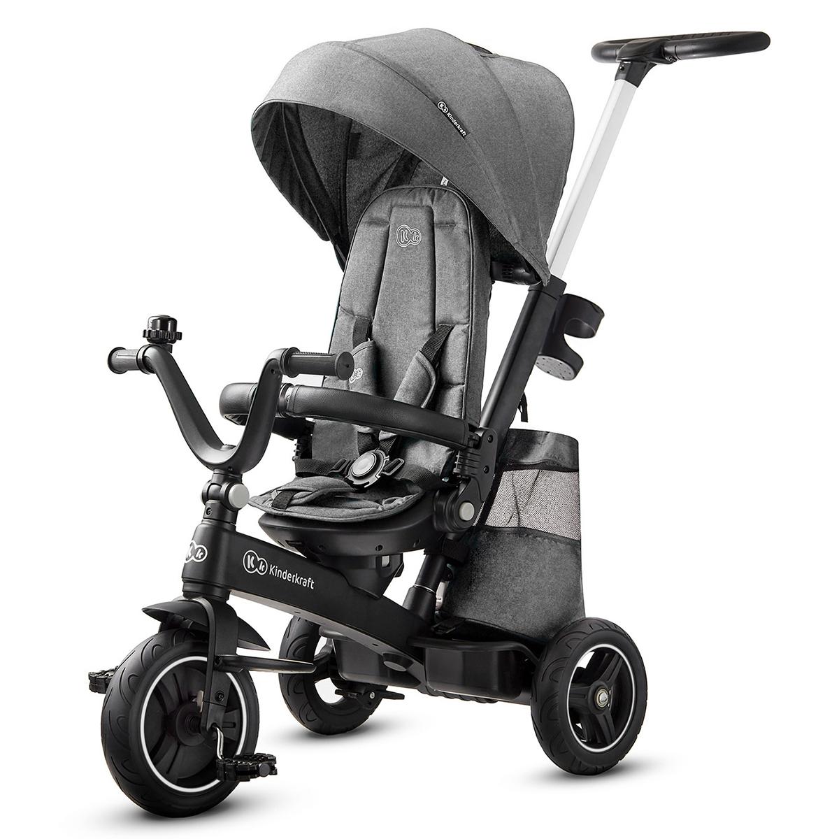 Trotteur & Porteur Tricycle EASYTWIST - Platinum Grey Tricycle EASYTWIST - Platinum Grey