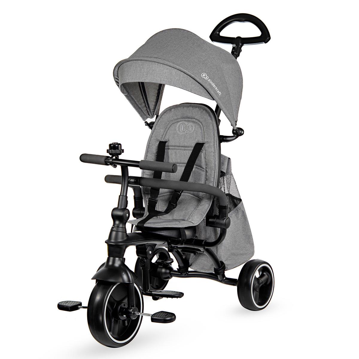 Trotteur & Porteur Tricycle JAZZ - Grey Tricycle JAZZ - Grey