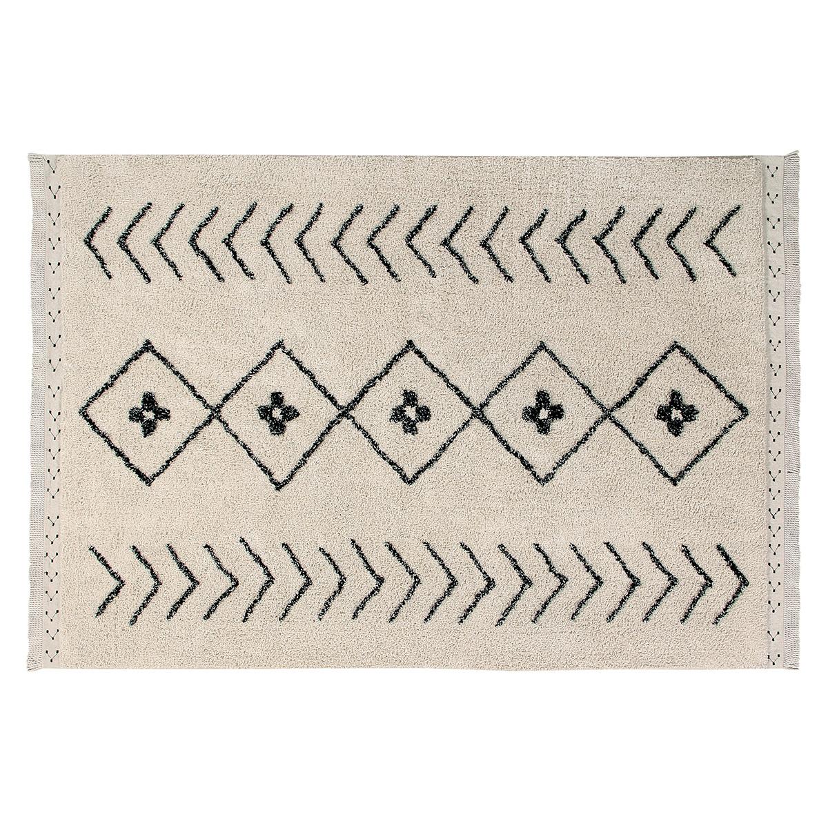Tapis Tapis Lavable Berbere Rhombs - 120 x 170 cm Tapis Lavable Berbere Rhombs - 120 x 170 cm