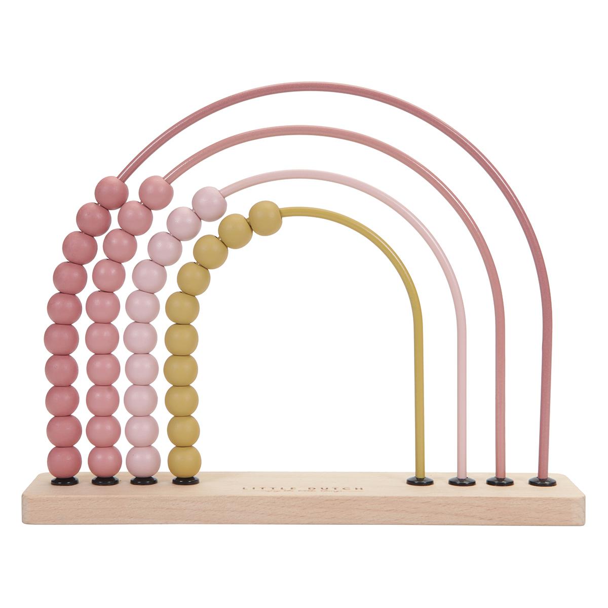 Mes premiers jouets Boulier Arc-en-ciel - Pink Boulier Arc-en-ciel - Pink
