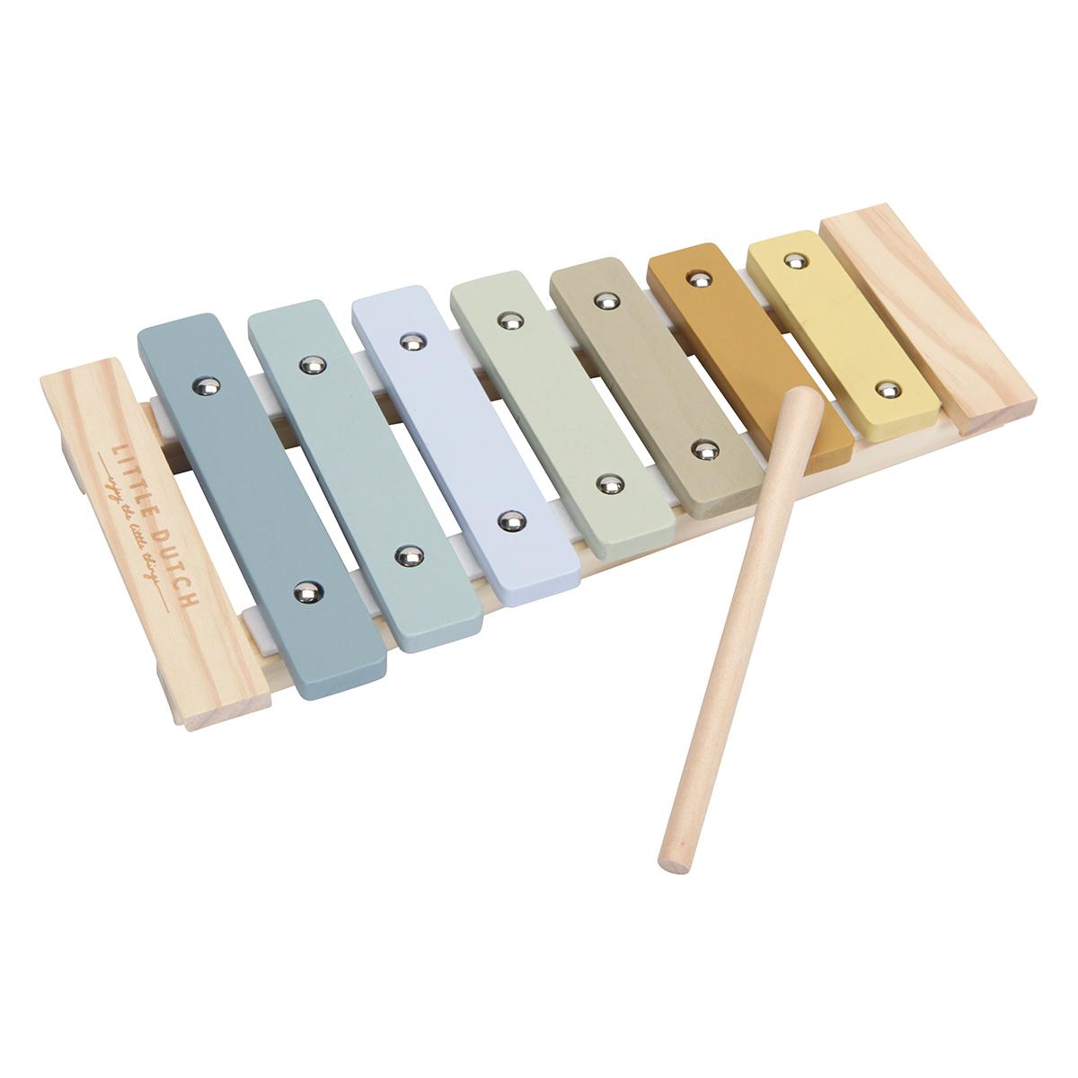 Mes premiers jouets Xylophone en Bois - Blue Xylophone en Bois - Blue