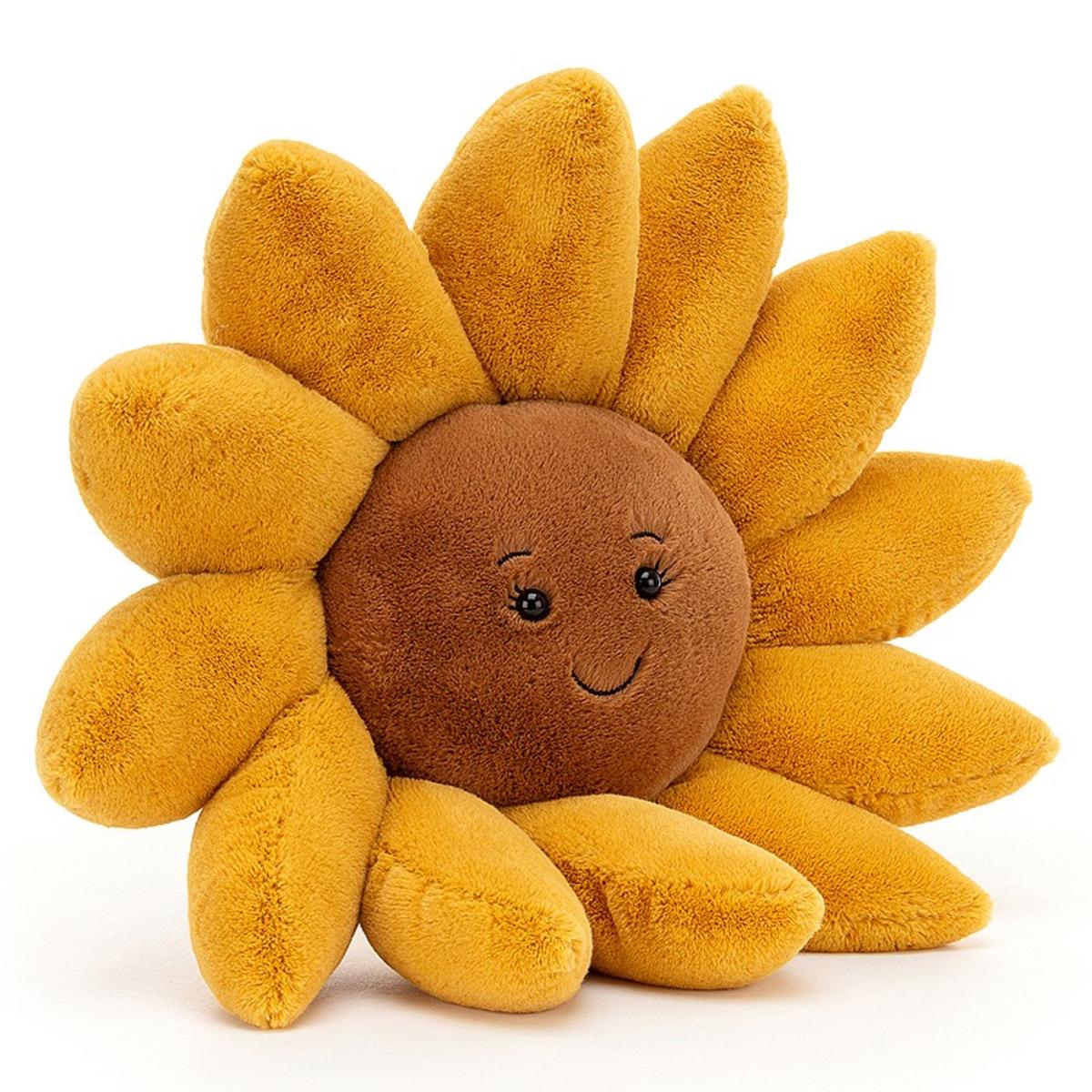 Peluche Fleury Sunflower Peluche Tournesol 39 cm
