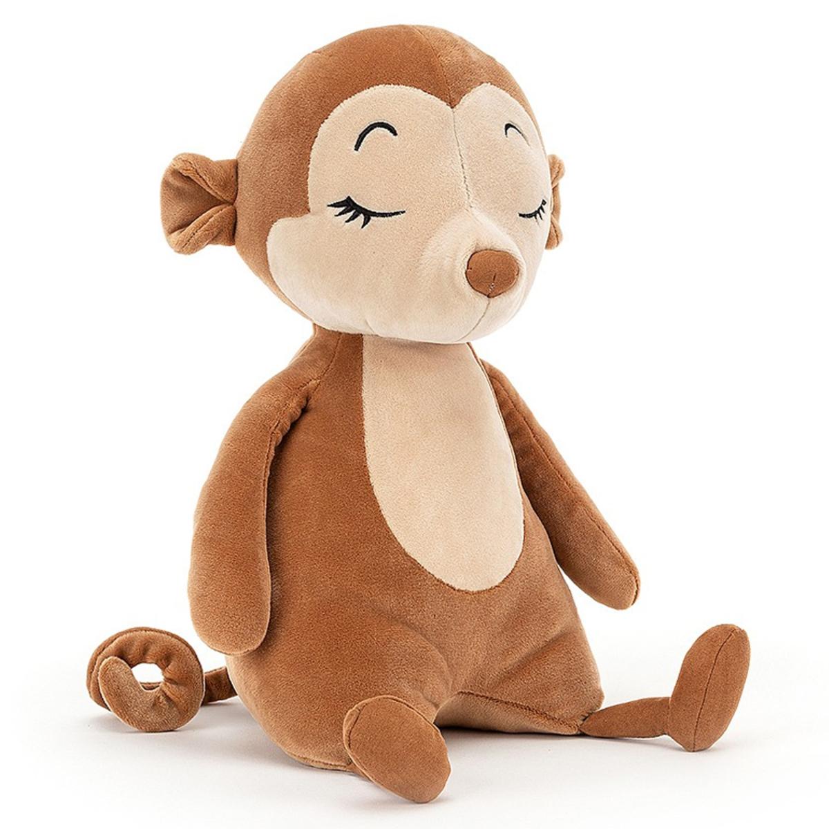 Peluche Sleepee Monkey Peluche Singe 36 cm