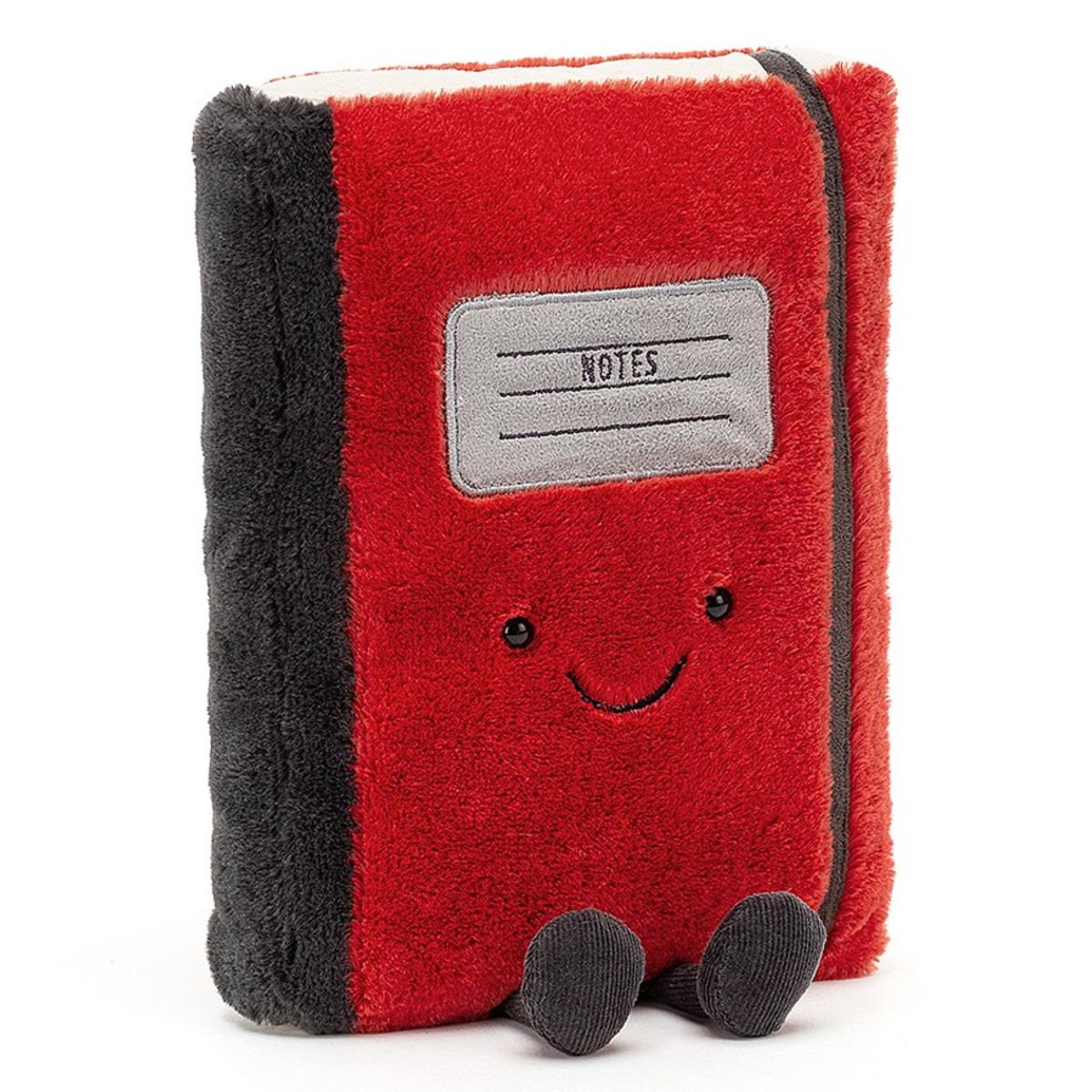 Peluche Smart Stationery Notebook Peluche Carnet de Notes 25 cm