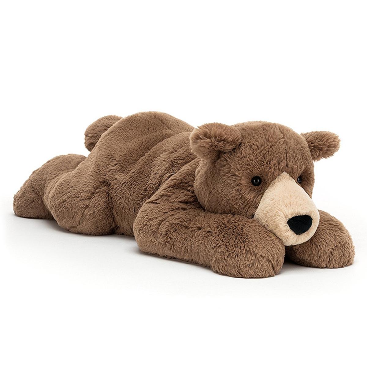Peluche Woody Bear Lying Peluche Ours 65 cm