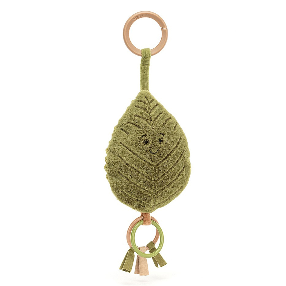 Accessoires poussette Jouet de Poussette Woodland Beech Leaf Ring Toy Jouet de Poussette Woodland Beech Leaf Ring Toy