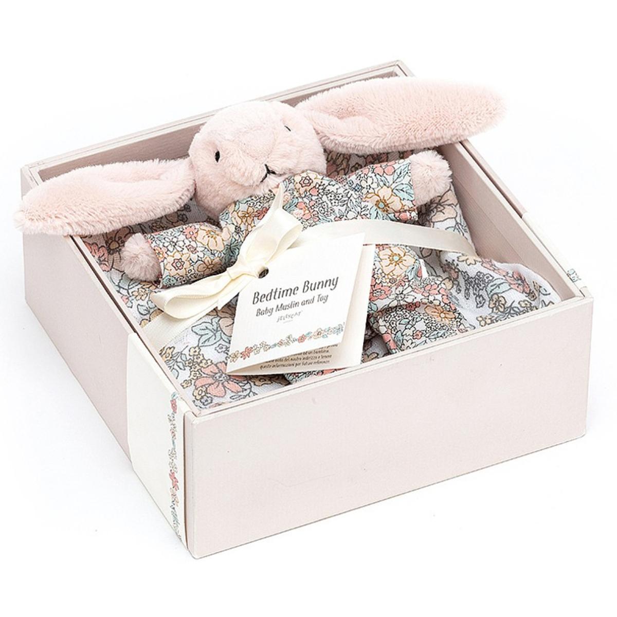 Lange Boîte Cadeau Bedtime Blossom Bunny - Rose Boîte Cadeau Bedtime Blossom Bunny - Rose