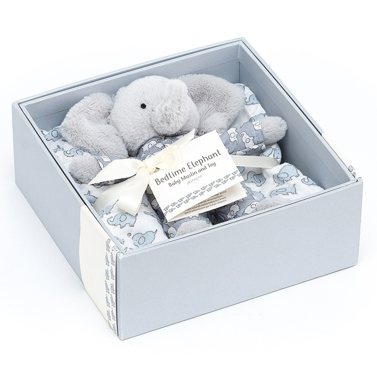 Lange Boîte Cadeau Bedtime Elephant - Bleu Boîte Cadeau Bedtime Elephant - Bleu