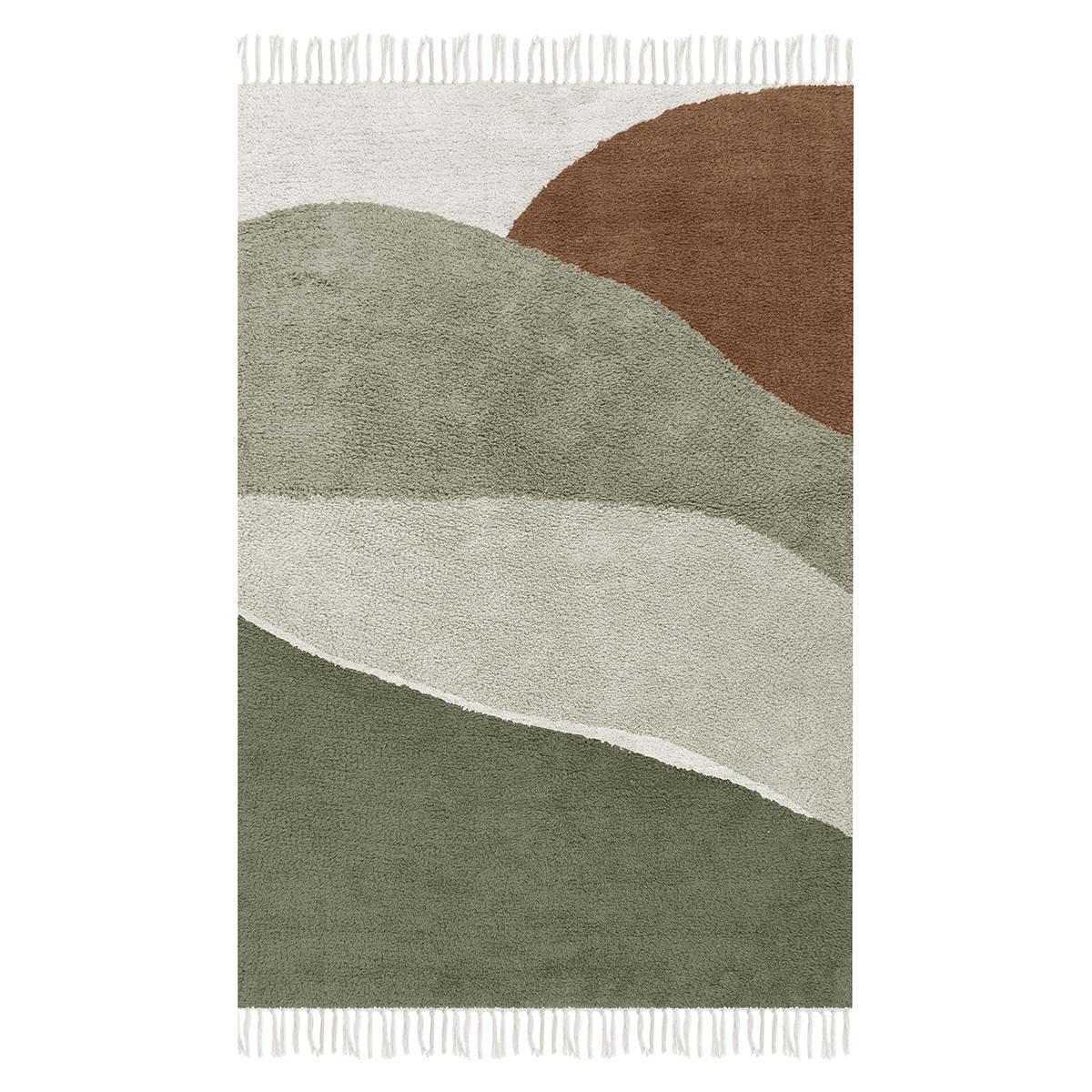 Tapis Tapis Horizon Olive - 90 x 130 cm Tapis Horizon Olive - 90 x 130 cm