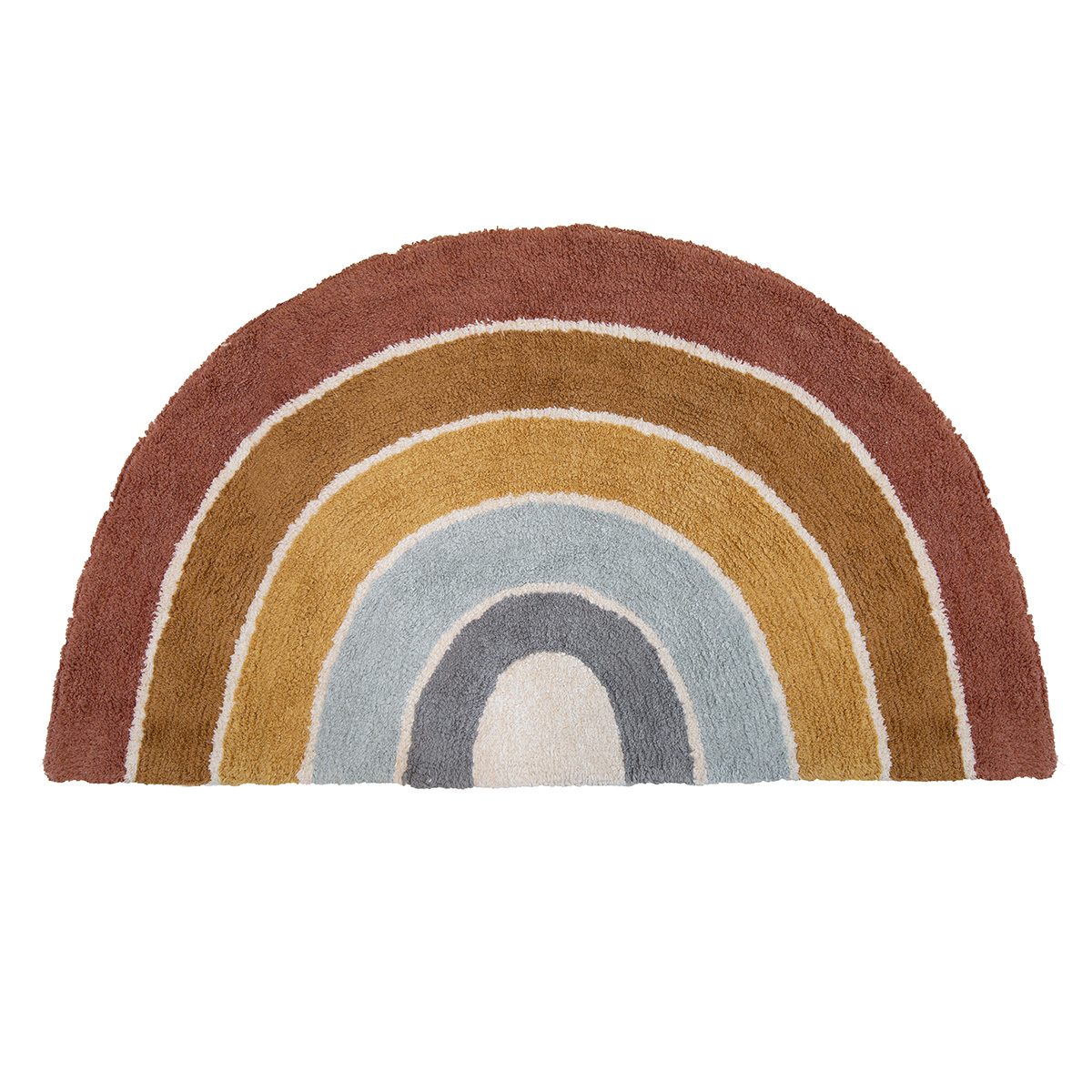 Tapis Tapis Rainbow Shape Pure & Nature - 80 x 130 cm Tapis Rainbow Shape Pure & Nature - 80 x 130 cm