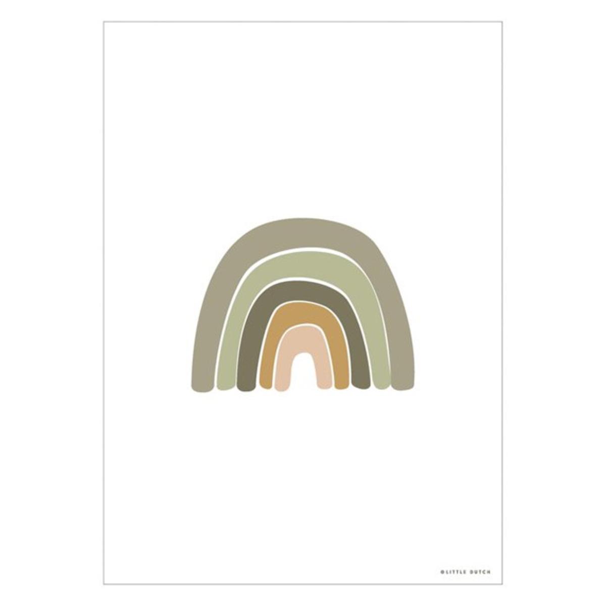 Affiche & poster Poster Réversible Horizon - Olive Poster Réversible Horizon - Olive