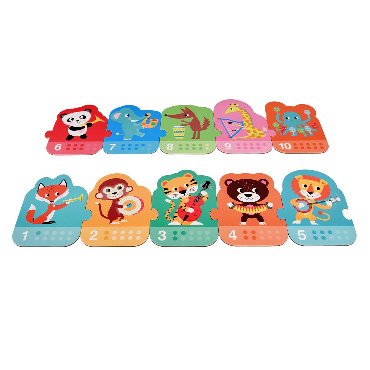 Mes premiers jouets Puzzle Fanfare Puzzle Fanfare