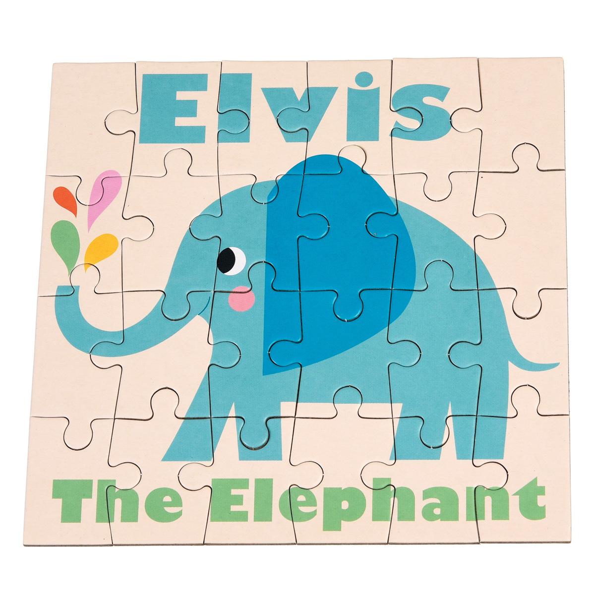 Mes premiers jouets Puzzle Elvis l'Eléphant Puzzle Elvis l'Eléphant