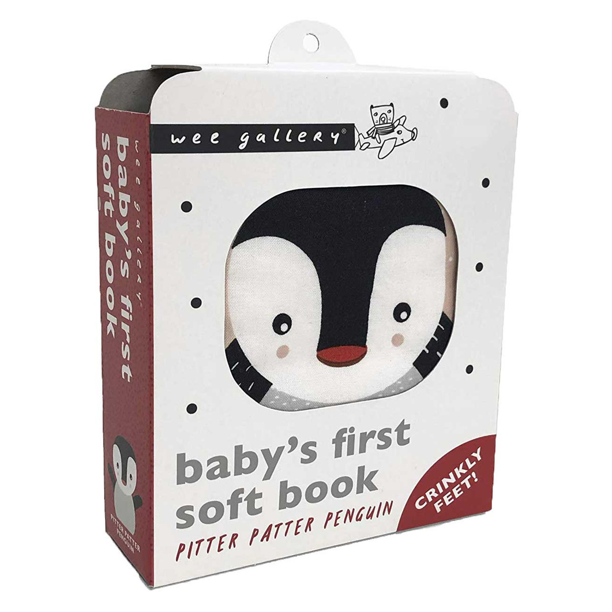 Livre & Carte Livre en Tissu - Pingouin Livre en Tissu - Pingouin