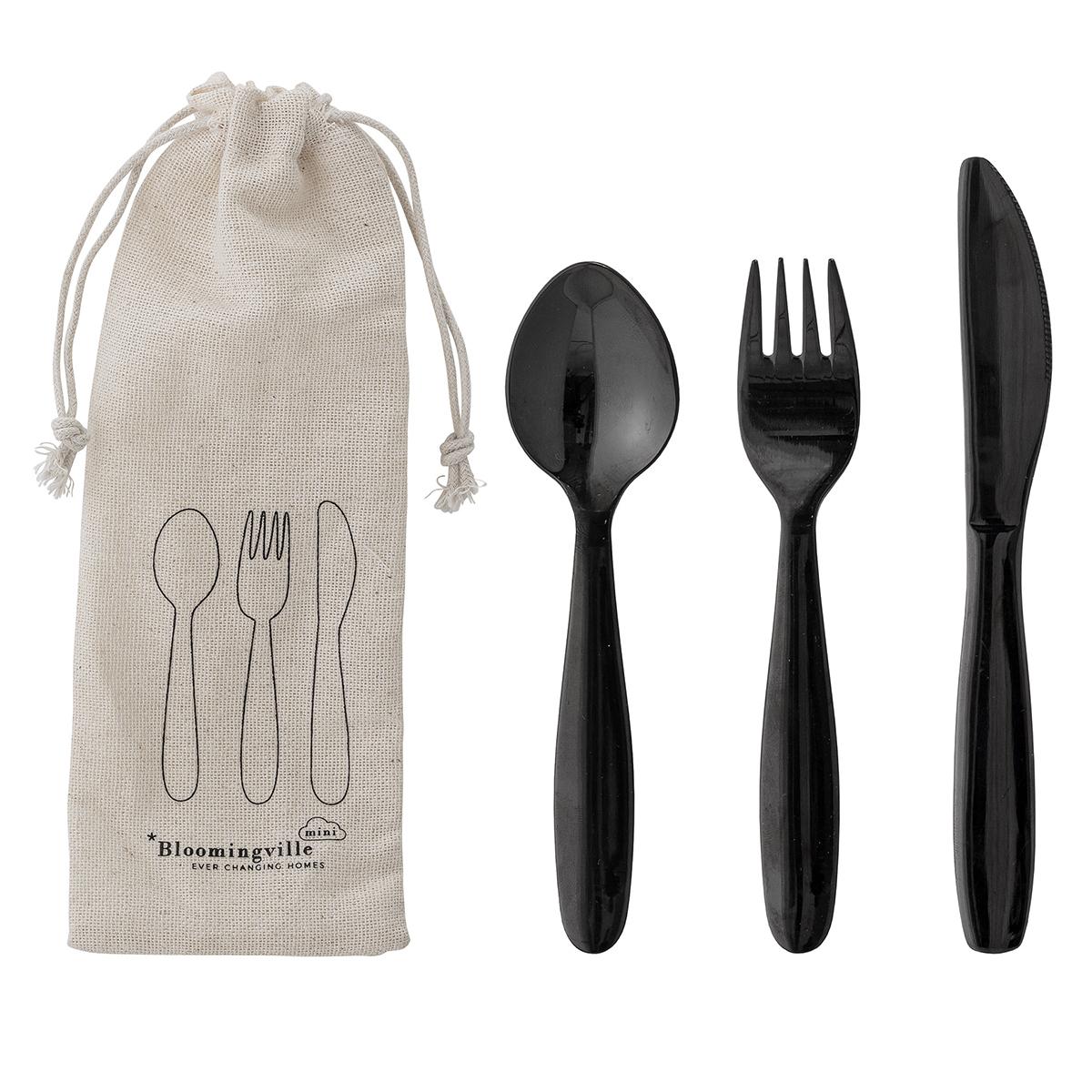 Vaisselle & Couvert Couverts en Métal - Noir Couverts en Métal - Noir