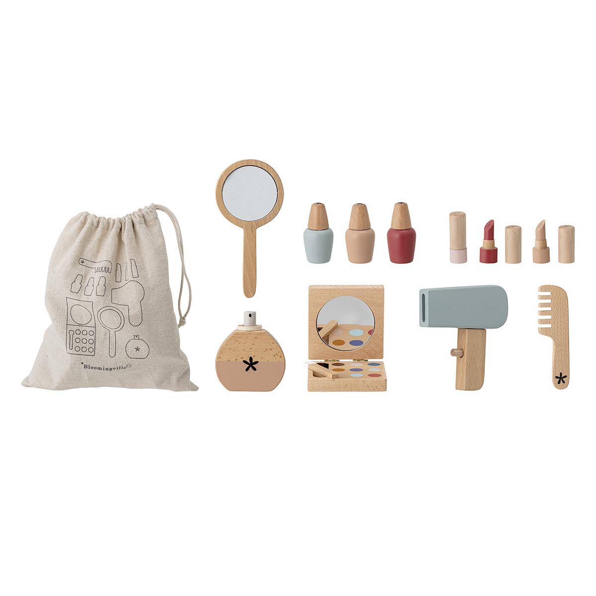 Mes premiers jouets Kit de Maquillage en Bois Kit de Maquillage en Bois