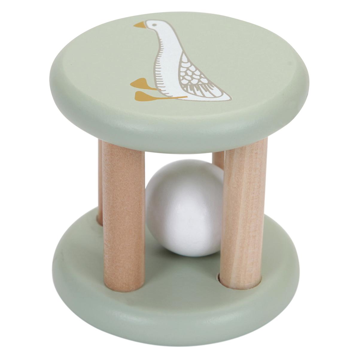 Hochet Hochet Boule en Bois Little Goose Hochet Boule en Bois Little Goose