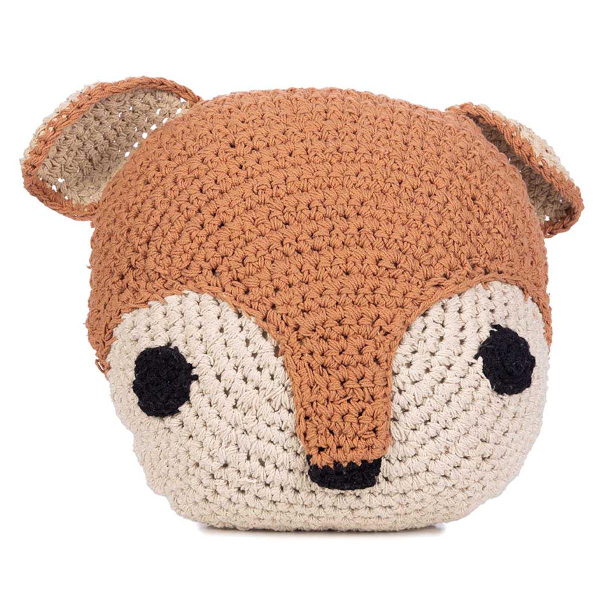 Coussin Coussin en Crochet Ecureuil Coussin en Crochet Ecureuil